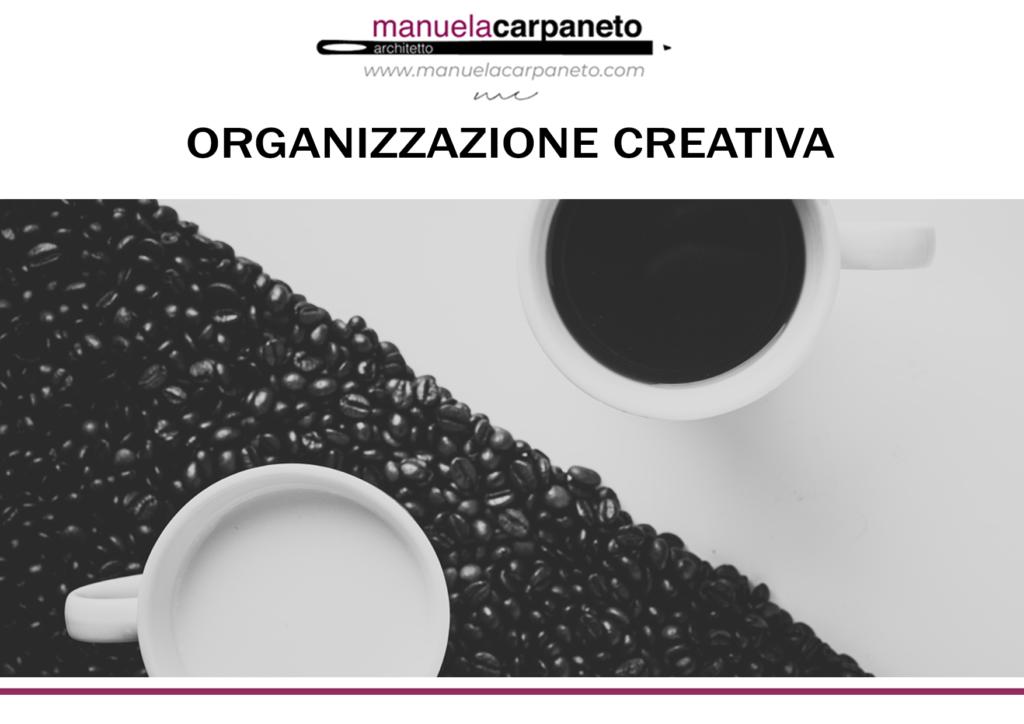 organizzazione creativa
